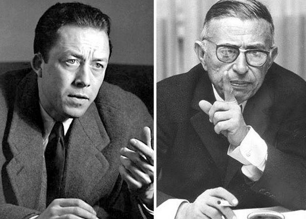 #AneddotiLetterari: Rosicate esistenzialiste, Sartre vs Camus